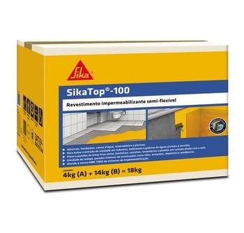 SikaTop-100 Argamassa Polimérica 18kg - Sika - 428057 - Unitário