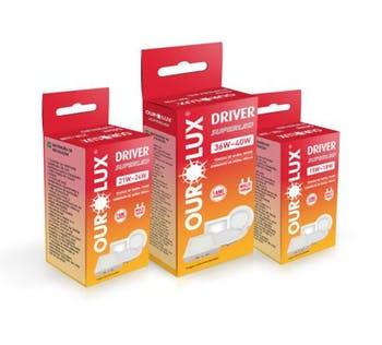 Driver pAra Plafon 15W~18W - Ourolux - 03804 - Unitário
