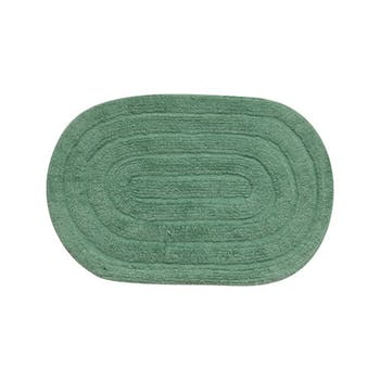 Tapete Allegro Oval 40x60 - Verde - Kapazi - 28ALLE06 - Unitário