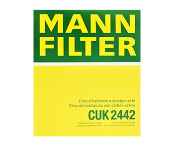Filtro do Ar Condicionado - Mann-Filter - CUK 2442 - Unitário