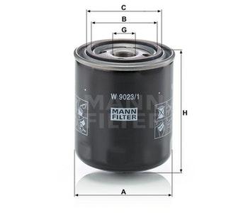 Filtro de Óleo da Transmissão Hidráulica - Mann-Filter - W9023/1 - Unitário
