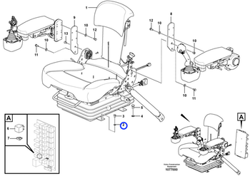 Arruela - Volvo CE - 12727853 - Unitário