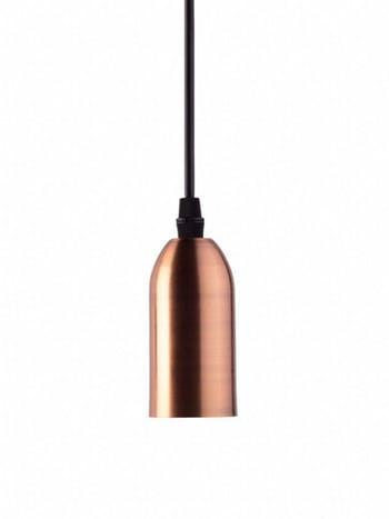 Pendente Dot Metal Vintage Cobre 40W - Taschibra - 15050656 - Unitário