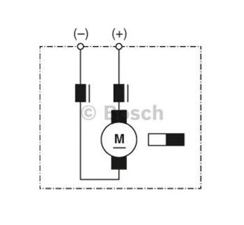 MOTOR ELÉTRICO - Bosch - 9130081051 - Unitário