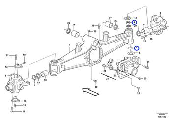 Rolamento Esférico - Volvo CE - 17245870 - Unitário