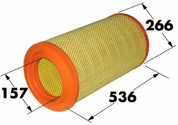 Filtro de Ar - WIX - W48925BR - Unitário