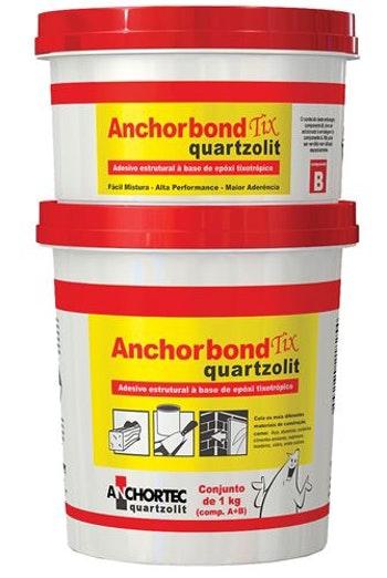 Adesivo Estrutural Anchorbond TIX 1Kg - Quartzolit - 31824 - Unitário
