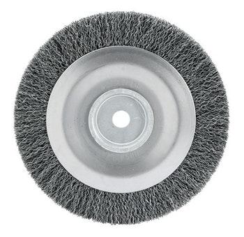 Escova Circular Ondulada F16 com Fio 0,40mm 4500RPM - Abrasfer - T.7000-200X19 - Unitário