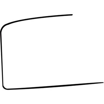 Quadro do Vidro da Porta Dianteira - Universal - 22260 - Unitário