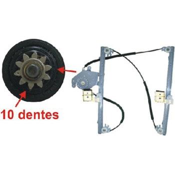 Máquina Elétrica do Vidro da Porta Dianteira - Universal - 21756 - Unitário