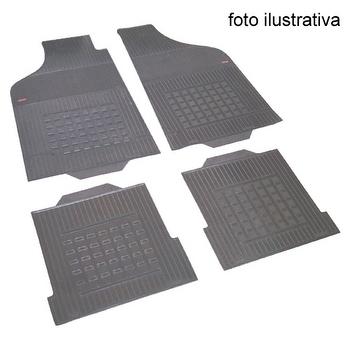 Tapetes Automotivos Cinza - Borcol - 19637113 - Kit