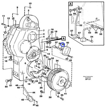 Kit do Rotor da Bomba de Água - Volvo CE - 4778347 - Unitário