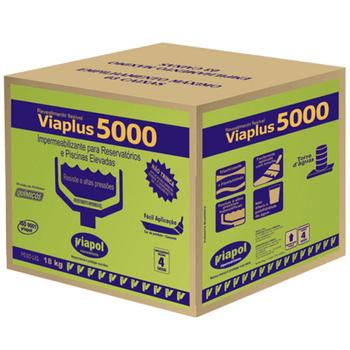 Revestimento Impermeabilizante Viaplus 5000 - 18 Kg - Viapol - V0210604 - Unitário