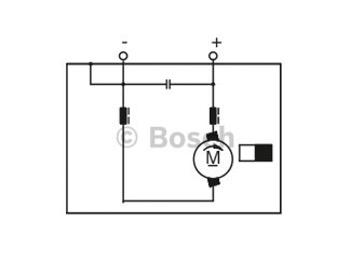 MOTOR DE CORRENTE CONTIN - Bosch - F006B10310 - Unitário
