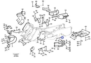 Parafuso Flangeado - Volvo CE - 946470 - Unitário