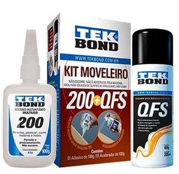 Kit Moveleiro 200 100g + Ativador QFS 200ml