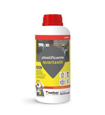 Plastificante para Argamassa 1L - Quartzolit - 30082.14.30.008 - Unitário