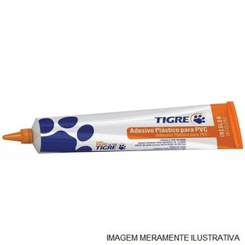 Adesivo PVC Vinílico Incolor 17g - Tigre - 53010229 - Unitário