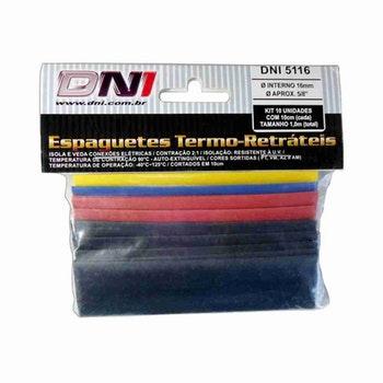 Espaguete Termo-Retrátil Ø16mm Contração 2:1 Kit com 10 - DNI - DNI 5116 - Unitário