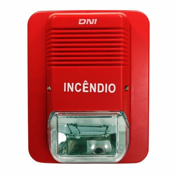 Sirene para Monitoramento e Incêndio - 24V - DNI 4206 - DNI - DNI 4206 - Unitário