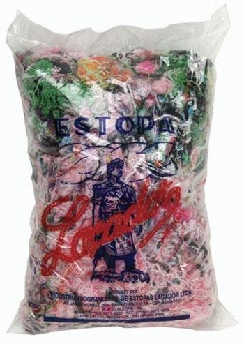 Estopa Colorida 15kg - Laçador - Laçador-MISTA - Unitário