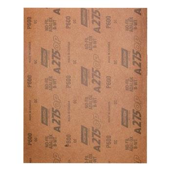 Folha de lixa seco A275 grão 600 - Norton - 05539534960 - Unitário