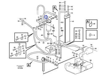 Suporte do Filtro Separador de Água - Volvo CE - 11713138 - Unitário