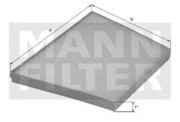 Filtro do Ar Condicionado - Mann-Filter - CUK3461 - Unitário