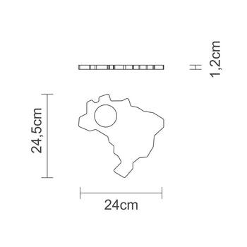 Kit Caipirinha Brasil com 4 Peças - Tramontina - 10239382 - Unitário