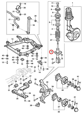 Amortecedor - Original Chevrolet - 93300947 - Unitário