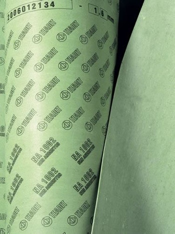 Papelão Hidráulico NA 1002 - Grafite Espessura 2,40mm Folha 1,5x1,6mm - Teadit - NA-1002-3/32 - Unitário