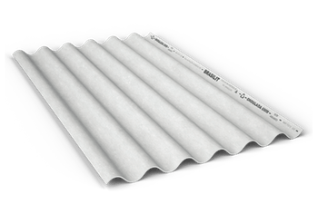 Telha Ondulada BR CRFS 6mm 3,66 x 1,10m - Brasilit - 220163665 - Unitário