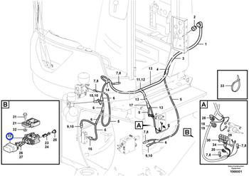 Porta Fusíveis - Volvo CE - 11039714 - Unitário