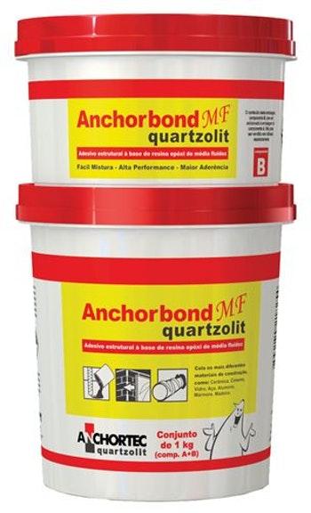 Cola Estrutural Anchorbond MF 1kg - Quartzolit - 31825 - Unitário