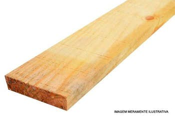 Sarrafo Bruto de Pinus 2,5 x 10 x 300cm - Distribuidor Regional - SBP103M - Unitário