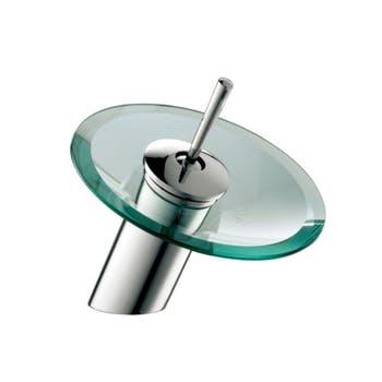 Misturador Monocomando de Mesa Tipo Cascata para Lavatório - Redondo - Bica Baixa - Jiwi - V-81519-29A - Unitário