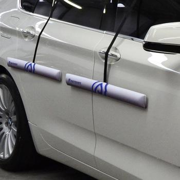 Protetor de Porta Magnético para Carros - Proteporta - Prata Par - Proteporta - PP2-Q2-PTA - Par