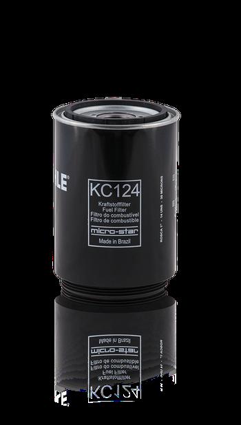Filtro Blindado de Combustível - MAHLE - KC124 - Unitário