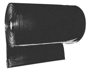 Lona Plástica Preta 4x100m +-80 Micras 60kg 2051 - Lonax - 2051 - Unitário
