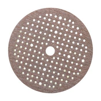 Disco de lixa espumado seco A275 grão 400 150mm c/ x furos - Norton - 63642560575 - Unitário