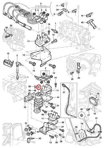Válvula EGR - Original Chevrolet - 17094107 - Unitário