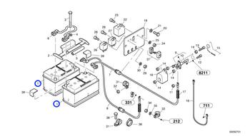 Bateria - Volvo CE - 11306682 - Unitário