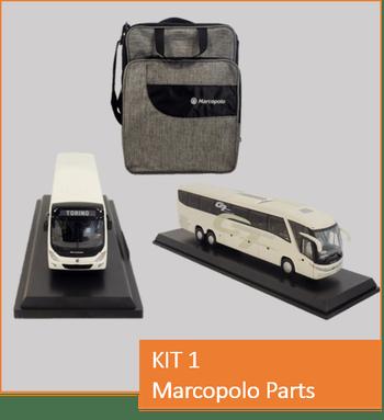 Kit Marcopolo Parts - Marcopolo - Kit 01 - Kit