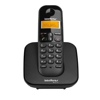 Telefone Sem Fio TS 3110 Preto - Intelbras - 4123110 - Unitário