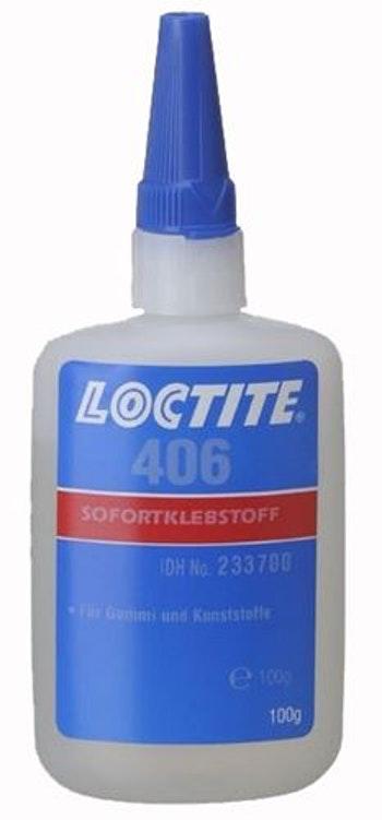 Adesivo Instantâneo 406 100g - Loctite - 268679 - Unitário