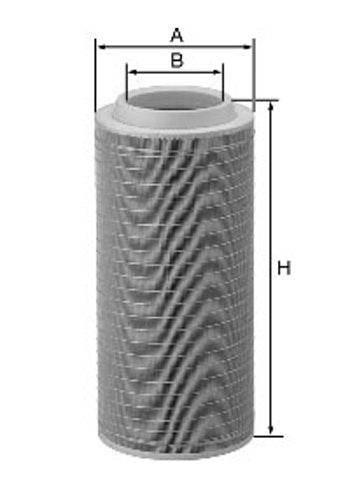Filtro de Ar - Mann-Filter - C331460/1 - Unitário