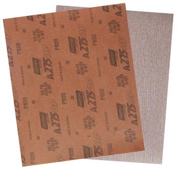 Folha de lixa seco A275 grão 800 - Norton - 05539534961 - Unitário