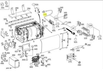 Sensor de Oxigênio - Original Mercedes-Benz - A0091530028 - Unitário