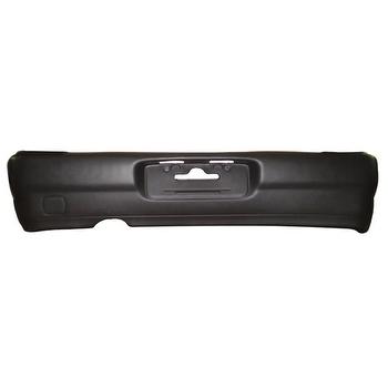 Para-Choque Preto Texturizado Traseiro - DTS - 6300 - Unitário