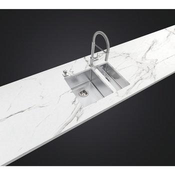 Cuba Design Collection Undermount em Aço Inox com Acabamento Scotch Brite 17 x 40 cm - Tramontina - 94003113 - Unitário